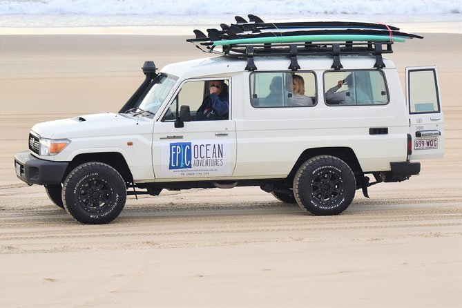 Rainbow Beach Surf Lesson Australia's Longest Wave 4X4 Adventure, Rainbow Beach, AUSTRALIA