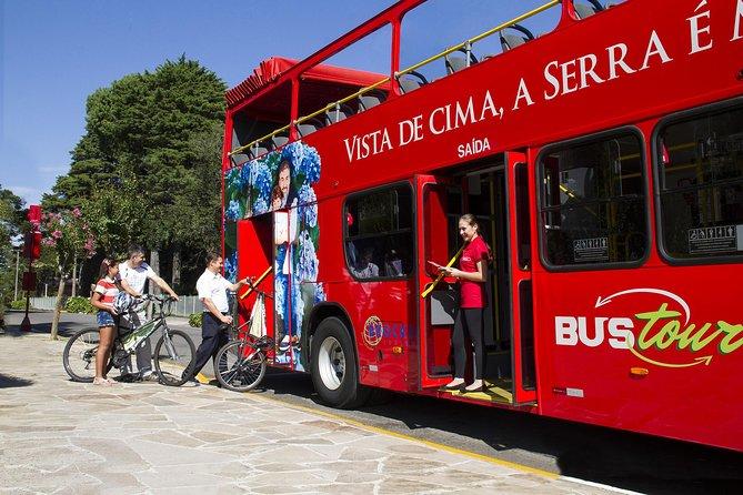 Bus Tour ticket day use and Bus Beer Tour, Gramado, BRASIL