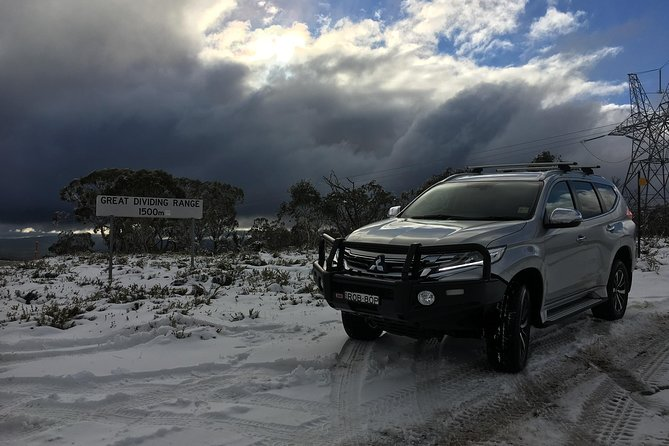 Private and personalised 4WD Transfer to and from the Snowy Mountains, Taking the risk out of driving on the Alpine Roads.