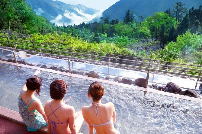 Skip the Line: Hakone Kowakien Yunessun Ticket(morinoyu only hot spring zone), Hakone, JAPAN