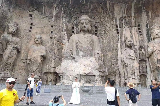 Luoyang Longmen GrottoesTri colored glazed pottery painting& start from Luoyang, Luoyang, CHINA