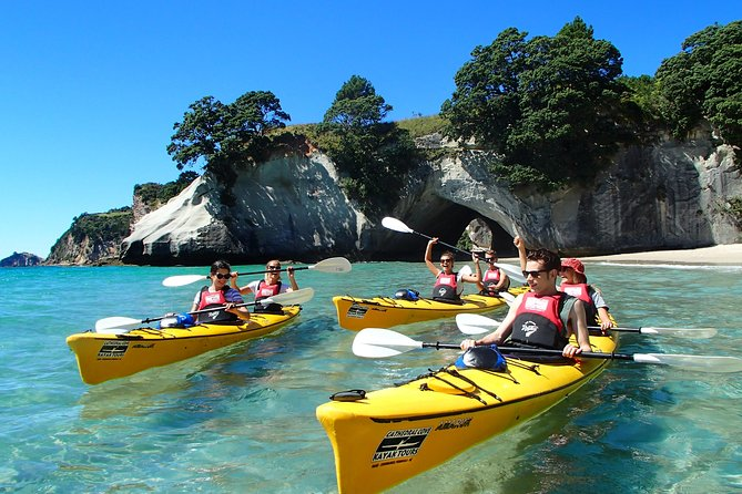 * Small groups and personal service<br>* We are the only kayak company able to land at Cathedral Cove<br>* Friendly guides and modern kayaking equipment<br>* We have been delivering safe and professional tours for over 21years<br>* Open all year round<br>