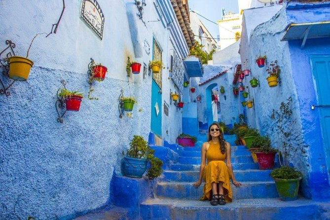 Tours from Casablanca to (1n at Chefchaouen) and drop off in Fez, Fez, MARRUECOS