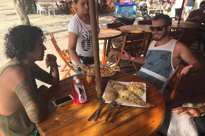 we are people from the city of santa marta, locals guides who will show you the best of the beautifull bahia de america. <br>we go from restaurands around the historichal centre to the street traditional fruts and food. <br>we also try the best fruits juices of the city and the best coffee in town <br>the idea is to show you the best of our Caribbean gastronomy; and at the same time share with you about our culture and history.