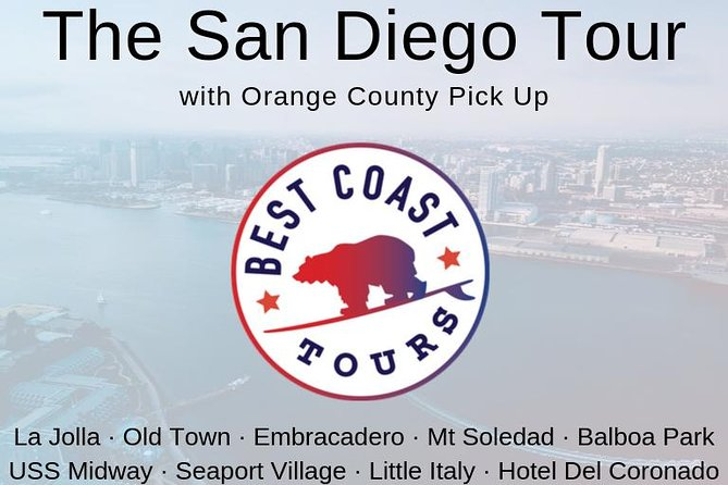 "Come join us for a fun-filled adventure of touring ""America's Finest City"" – San Diego! From the white sand beaches of La Jolla to the oldest Spanish settlement of Old Town, the vibrancy of The Gaslamp Quarter, Seaport Village, Downtown San Diego, Little Italy, and Coronado Island, San Diego has it all and we want to show you the best of it on our sightseeing tour of San Diego! Whether on vacation with your family or in town for the day on business, you will be sure to fall in love with this city on the sea. From our Best Coast Tours family to yours, come cruise with the Best!"