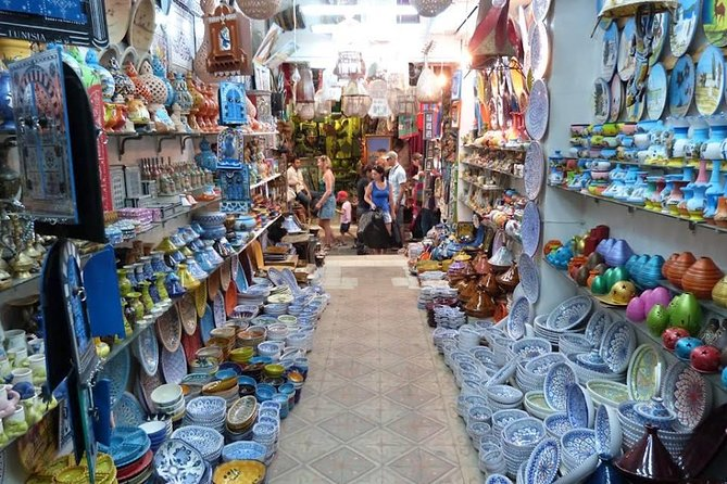 Picturesque Village Of Sidi Bou Said + Tunis Old Medina, ,