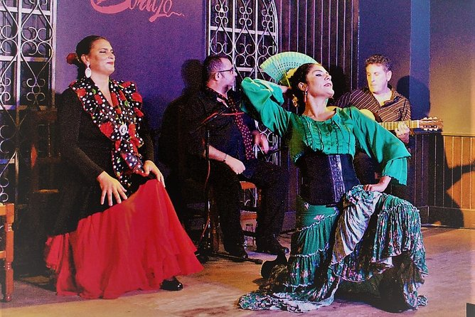 Skip the Line: Flamenco Show with Dinner and Workshop in Madrid Ticket, Madrid, ESPAÑA