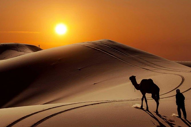 Explore the magic of the Sahara desert on this 3-day tour from Fez. Ride a camel through the Chebbi dunes, spend the night in a desert camp, and watch the sun come up over the sand. This trip also includes lunch in a Berber village, travel through the Atlas Mountains, and a tour of spectacular Rissani<br><br>