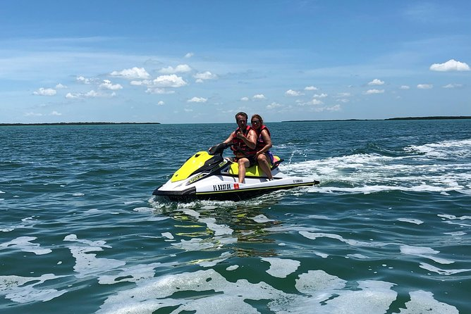 Biggest ride area in the Keys. Bring your camera or phones to video your experience. Dolphins. Manatee. Birds in the area. Our waverunners are new and hold up to 3 riders. Smooth ride for beginners or experienced. You will love the area to ride.