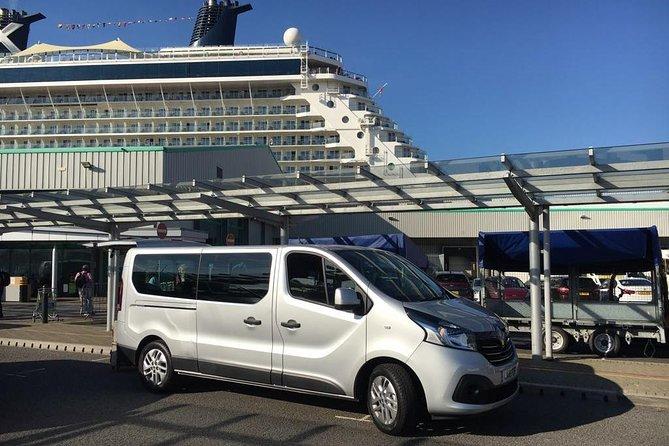 Traslado privado para llegadas en monovolumen desde los terminales de cruceros de Southampton a Londres, Southampton, INGLATERRA