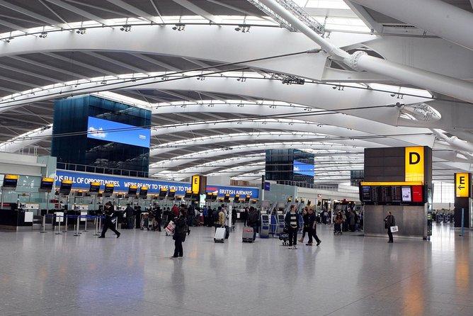 Traslado de chegada particular em minivan dos terminais de cruzeiros de Southampton ao Aeroporto de Heathrow, Southampton, INGLATERRA