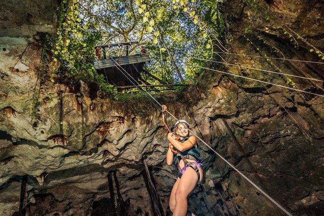 Acceso Prefetencial: Cenotes Mayas - Aventura en Xenotes por Xcaret Tour desde Cancún, Tulum, MEXICO