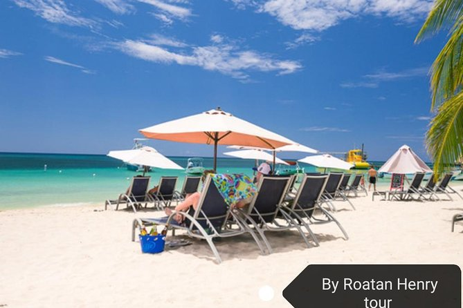 Tour and Day at a Private Beach Club on Roatan Island, Honduras, Roatan, HONDURAS