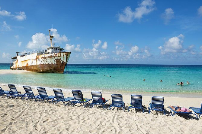 Come and enjoy the tranquility of Grand Turk, by visiting our quaint Downtown. You will be driven in an air conditioned vehicle to our little town, en route, you will be shown the highlights of the island as you pass by the replica of the Friendship 7 Capsule, the Governor's Office, the Premier's Office, the Salt Ponds and the many churches. While in the town area, you will have one hour to visit the Grand Turk National Museum, where you will be taken back in time, as you stroll through and be captivated by the many rustic displays and artifacts from our past. Also, there will be time for shopping and dining of some Local Dishes made by order at an affordable price.<br><br>The next part of this excursion is pure fun in the sun! You will have 2 hours to walk, swim, relax or do an aquatic tour at the Governor's Beach. Here you can relax in a peaceful atmosphere, away from the large crowds at the port.
