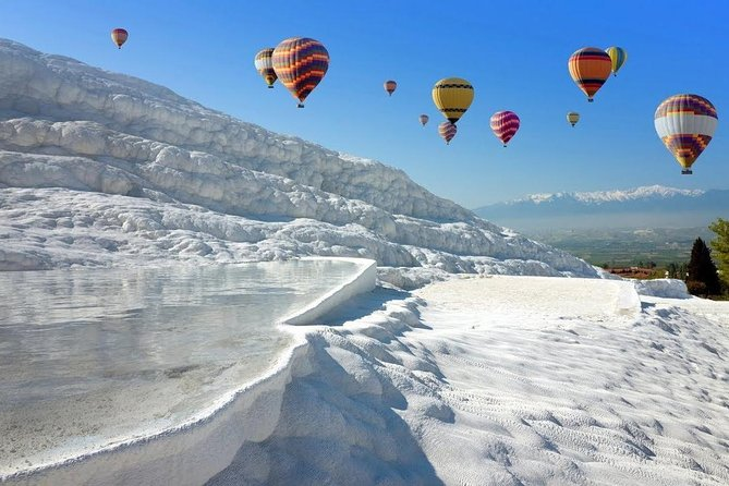 We love living in Pamukkale and serving you with the true Pamukkale Hot-air Balloon tour. As long as the weather conditions permit, our tours take place seven days a week and 365 days of the year.