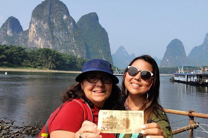 Daxu Ancient Town & Li River Bamboo boat &Xianggong Hill & Yangshuo Private tour, Guilin, CHINA