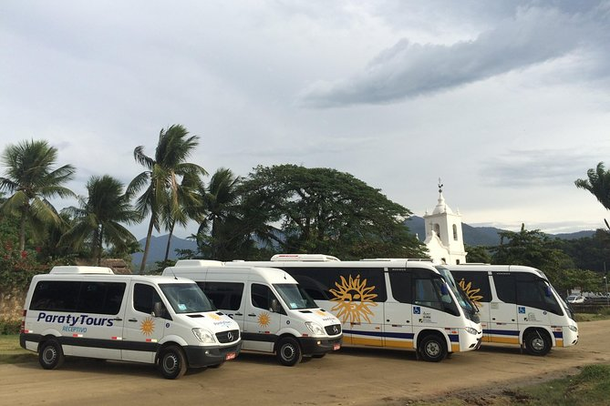 Buying the 2 services (arriving and come back) from São Paulo to Paraty, you will have special discount!<br>You will have a safe transport with a experienced agency guaranteed the best price.The best cost - benefit for you ! <br>