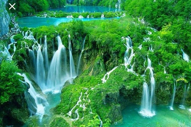 Krka Waterfalls from Split, a great tour of Krka Waterfalls and city Trogir with comfortable cars, a very friendly and knowledgeable guide, we highly recommend this tour. We choose type of transfer according to number of guests.<br><br>During your walking tour, you will stop and admire the most beautiful parts with numerous waterfalls and cascades especially the largest of them all – Skradinski Buk, which cascades over 17 natural barriers and plunges 125 feet. There will be an opportunity also to visit one of the old watermills as well the small ethnographic museum. There might be time to take a swim in one of the designated pools. After that you will have a free time to have a lunch with beautifull view to waterfalls. After we continue to Trogir, to see the highlighs of the town. We will return to along the beautiful coast, passing picturesque villages and islands, such as Primošten, Rogoznica and return back to Split<br><br>