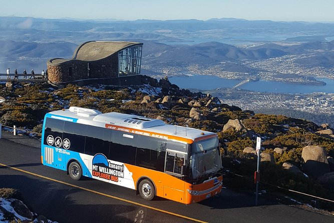 This combined ticket gives you access to two of Hobart's most iconic sightseeing tours – kunanyi/Mt Wellington Explorer Bus and Red Decker City Loop Tour!<br><br>Starting with the kunanyi/Mt Wellington Explorer Bus, you'll travel 1270 metres above sea level, experience spectacular views over Hobart and beyond. The 2-hour return trip includes 30-minutes to explore the summit of kunanyi / Mount Wellington. If you're looking for a little more adventure, you also have the option to hop-on and hop-off at multiple bus stops where you'll find a wide range of bushwalking tracks to explore.<br><br>Return to the city and join the official sightseeing tour of Hobart. Hop-on and experience stunning 360 degree views of Hobart from the top deck of our open-top double-decker buses. Stay onboard to complete the full 90 minute tour or hop-on, hop-off at any of the 20 convenient stops around the city.<br><br>Includes a 48hr Hop-On Hop-Off City Loop Ticket and akunanyi/Mt Wellington Explorer Pass (valid all day).