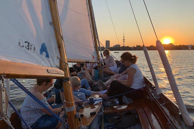 Hamburg Small-Group Sunset Sailing Cruise on Lake Alster, Hamburg, GERMANY