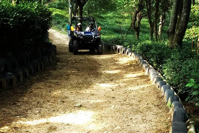 Himalayan Adrenaline is set admist a Tea plantation surrounded by pine forest, while being in a sub urban setup. We are one the longest private ATV trails and we are very happy of being