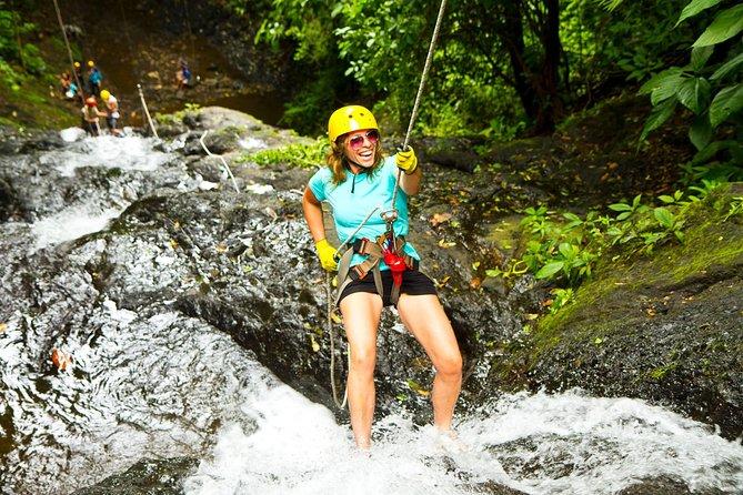 MÁS FOTOS, Rappel El Encanto Waterfall in Jaco