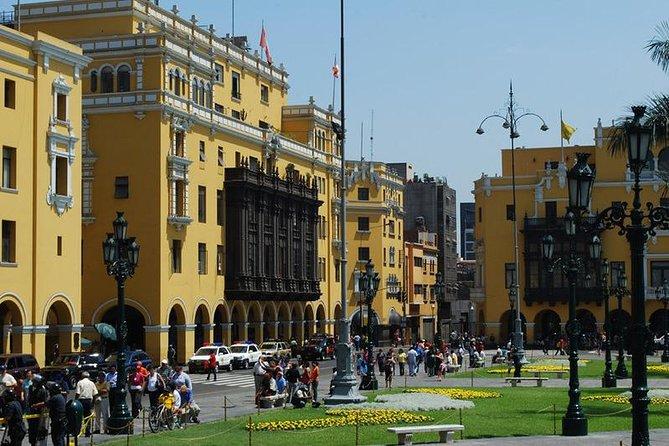 Tourist visit through the city of Lima, Lima, PERU