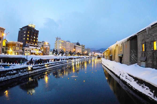 ・Day trip to sense the past glory and romance in today's Otaru of Hokkaido! Departure from Sapporo or Otaru is OK!<br>・In this tour, you will see Otaru's signature historical buildings and beautiful scenery with sufficient time allocated for each stop. <br>・Various activities includes visit to Glass Studio, Otaru Music Box Museum& sweets store for shopping, riding Mt.Tenguyama Ropeway for panoramic view of Otaru Harbor. <br>・There will be wine and Japanese sake tasting in this tour. Great chance to immerse in the aroma while sipping wine and some of best Japanese sake made in Hokkaido!<br>・Lunch buffet in Western and Chinese style with dessert will be served. There is also audio tour guide in three languages of English, Chinese and Korean.