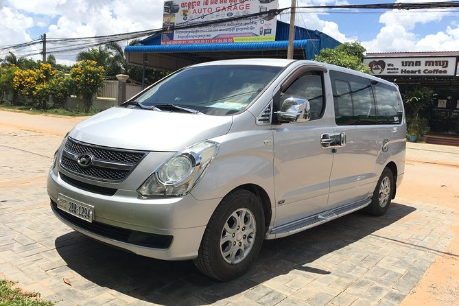 Private taxi transfer from Kratie town to Siem Reap city, Kratie, CAMBOYA