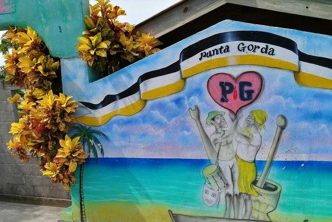 Garifuna and mangrove tunnel adventure, Roatan, HONDURAS