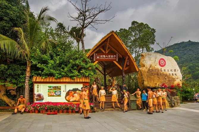 One Day Private Tour of Yanoda Tropical Rain Forest Park and Li Minority Culture Park, Sanya, CHINA