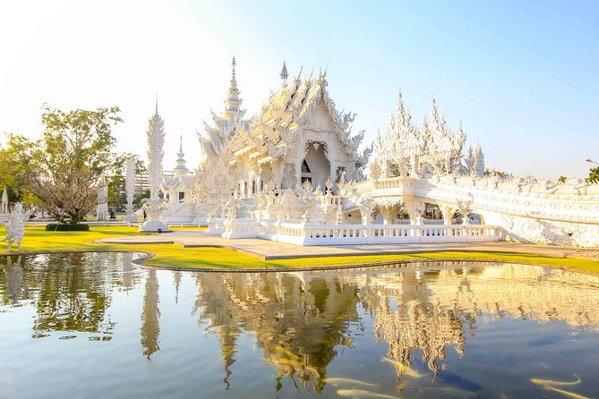 The idea of this trip is to visit Wat Phra Kaew where the Emerald Buddha image was once enshrined, Blue Temple (Rong Sued Ten Temple); designed by the local Chiang Rai artist. Continue to visit Wat Rong Khun (White's Temple), the unique northern Art temple.