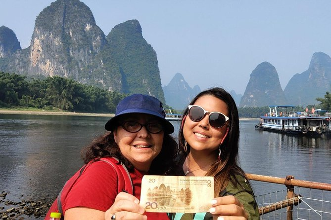 Full-Day Guilin Li-River Cruise and Yangshuo Xianggong hill Private Day Tour, Guilin, CHINA