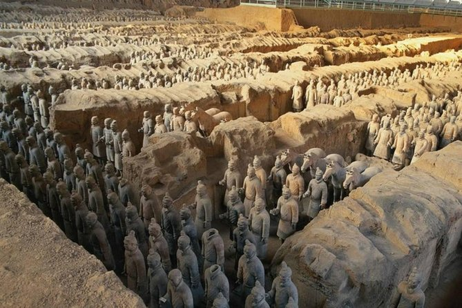 MÁS FOTOS, Xi'an in One Day from Qingdao by Air: Terracotta Warriors, City Wall and More