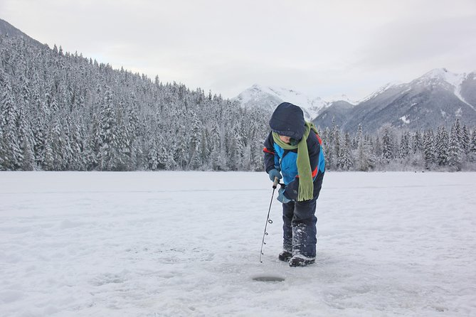 Fishing Adventure in Whistler (Ice fishing), Whistler, CANADA