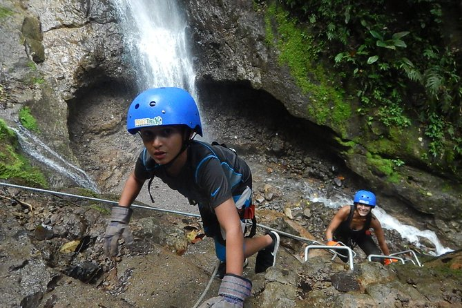 Pure Trek Canyoning and Waterfall Rappelling Tour in La Fortuna, ,
