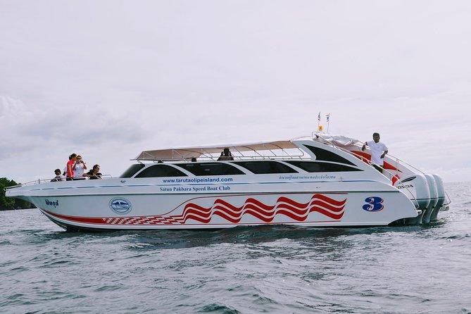 Koh Lipe to Koh Yao Noi by Satun Pakbara Speed Boat, Ko Lipe, TAILANDIA