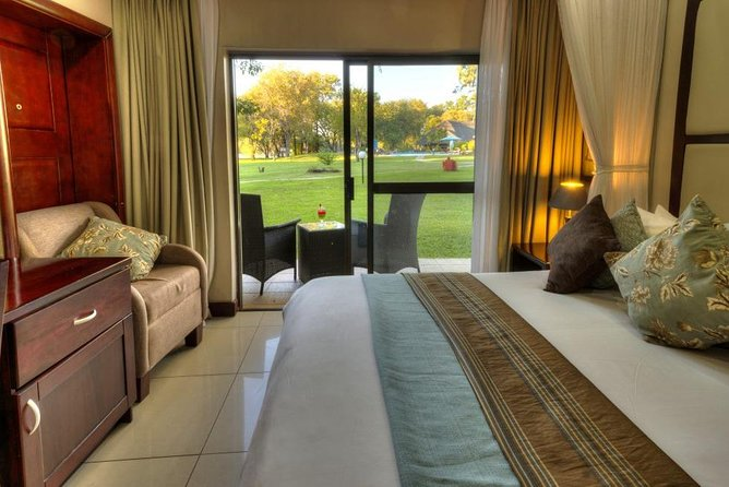 Spend 4 nights at Azambezi River Lodge in Victoria Falls and enjoy the the best activities Victoria Falls has to offer.