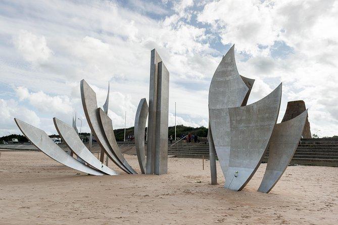 Escapada de un día a las playas del desembarco de Normandía con cementerio americano y almuerzo opcional, Paris, FRANCIA