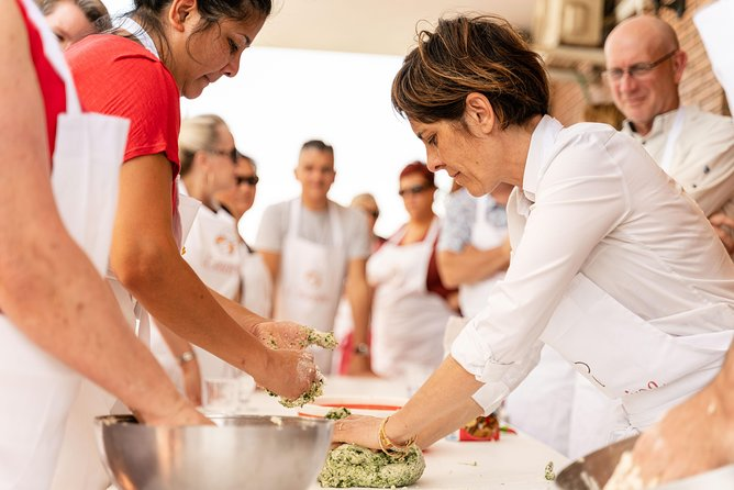 You can't visit Italy without trying at least one pasta dish... So, we'll teach you two!<br>Learn how to roll 'sfoglia' (fresh pasta) by hand and how to prepare 2 simple different kinds of pasta (filled pasta + fresh pasta) from scratch with your Cesarina. <br>As the icing on the cake you will learn to prepare also the iconic Tiramisu.<br>Share your passion for the Italian cuisine as you make new friends in this hands-on cooking class. It's a great way to truly experience Italian culture. <br>• Learn to roll 'sfoglia' (fresh pasta) by hand<br>• Learn to make 2 iconic pasta types<br>• Learn to make the iconic tiramisu<br>• Small-group cooking class with a maximum of 12 people. Share your passion for the Italian cuisine with other lovely guests<br>• Enjoy an Italian Aperitivo to warm-up<br><br>Cesarine is Italy's oldest network of home cooks all over the country. They are welcoming hosts that open the doors of their own homes to curious travellers for immersive culinary experiences.