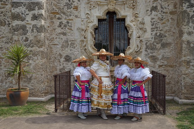 This tour is the perfect way to see the missions and learn about the founding of San Antonio with its rich history and culture. Experience Spanish History, the Coahuiltecans, and the early southwest. Learn about the significance of San Antonio, San Pedro Springs, and the groups that came together to set the stage for the founding of the Presidio - San Antonio. Your experience starts downtown, see: the original La Villita; Main Plaza, San Fernando Cathedral, and Plaza de Armas. Travel along the San Antonio River to visit all the missions with stops at Concepcion, San Jose, San Juan, Espada, and the Espada Aqueduct. Tour ends at Mission San Antonio de Valero, famously known as the Alamo, or guest's hotel. Guaranteed Departures, Twice a Day! No minimum guest requirements.