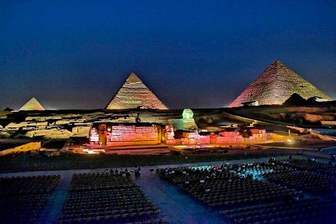 MÁS FOTOS, Sound and Light Show at Giza Pyramids