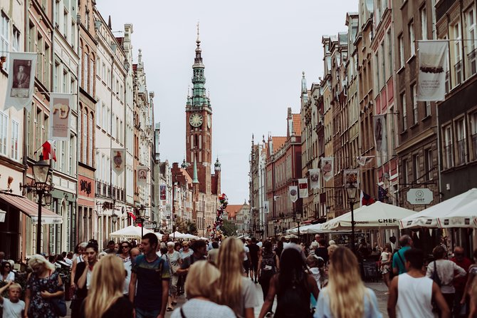 Come and join us on a tour of Gdansk, one of the most popular up and coming European destinations!<br><br>Lasting 3 hours, our groups have a maximum of 10 guests, allowing you to ask all the questions you want and get personalized recommendations from your guide.<br><br>You'll get to discover both the must-see sights and the hidden corners frequented by the locals. You will gain local insight and hear fascinating stories about this wonderful city, and you'll get to know it as both an enchanting historical town and as modern getaway destination.<br><br>Enjoy the beauty and classical architecture on the Dluga and Dlugi Targ, the streets home to Neptune's Fountain and the Artus Court, while passing the iconic church of St. Maria. <br><br>To choose a Nova Fairy Tales experience is to really make the most of your time in Gdansk and learn about its culture and history. We look forward to welcoming you on an unforgettable experience!