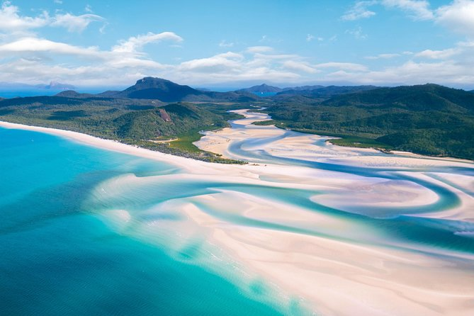 Whitehaven Beach and Hill Inlet Chill and Grill, Airlie Beach, AUSTRALIA