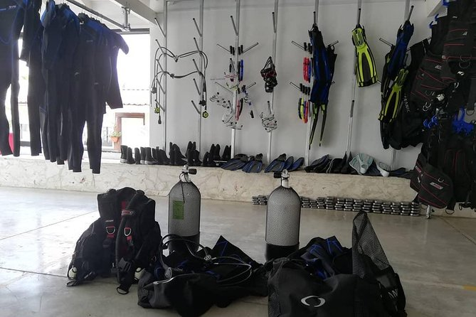 You only need to be qualified diver!<br>We are the only scuba diving support center in Protaras, Paralimni and Ayia Napa area.<br>Check out the reviews and do not hesitate to contact us!<br>We have all sizes in BCDs, boots, fins and wet suits.