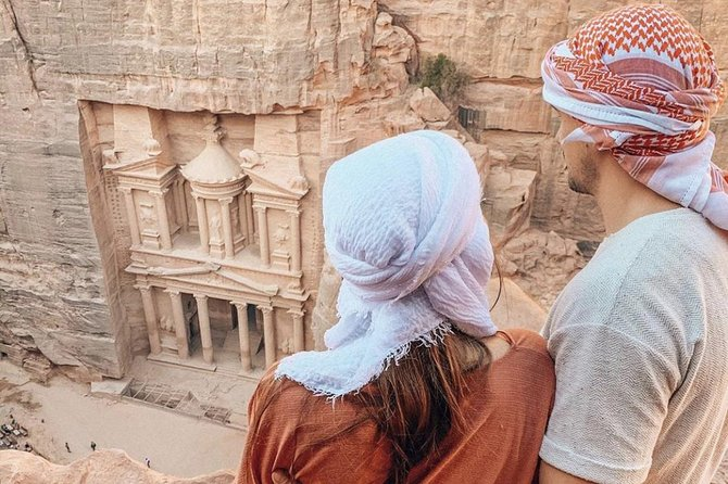 Private 3 Hours Inside Petra Tour: Treasury from the Top Off the Beaten Track, Petra, JORDANIA