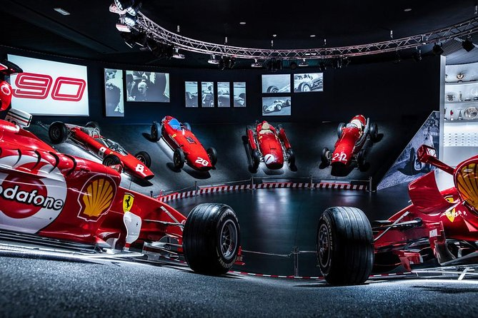 MORE PHOTOS, Ferrari Museum Maranello Private Tour from Rome