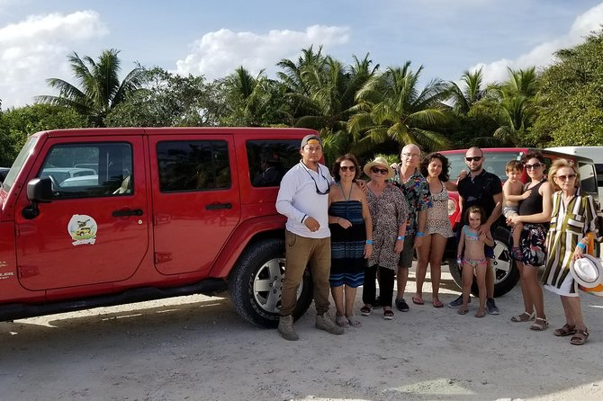 Cozumel Private Jeep Tour with Beach, Lunch and Snorkel, Cozumel, MEXICO