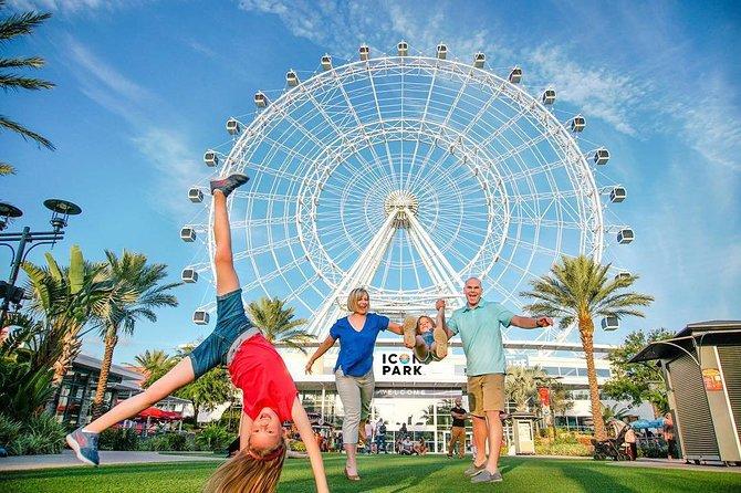 La noria en ICON Park, Orlando, FL, ESTADOS UNIDOS