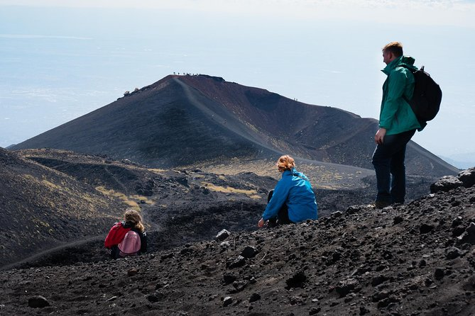 Mount Etna is the highest active stratovolcanoe in the world. <br><br>We propose to spend a day with us and a small friendly group to discover a beautiful nature, endemic flora and fauna, cinder cones and lava caves of Mount Etna.<br><br>We will pick you up in the morning with our 4 wheel drives or minivan to reach the altitude of 2.000 above sea level.<br><br>At this altitude we will start our moderate hike off the beaten tracks (approx. 2 hours) to admire the fascinating landscape of the Valle del Bove, the biggest caldera of Mount Etna and its moon like deserts. From there we will enjoy breathtaking views of the summit smocking craters and the surrounding landscapes facing the Ionian Sea.<br><br>The tour also includes the exploration of a lava tube to experience a natural phenomenon created when the surface lava solidified but magma continued to flow into the tunnel.<br><br>Departure from Catania. Tour available all year long.